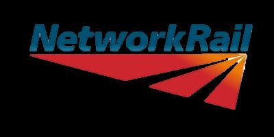 network rail. no background